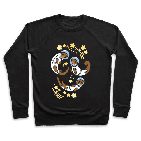 Otters In Space Pullover