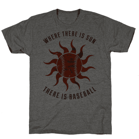 Where There Is Sun Mens T-Shirt