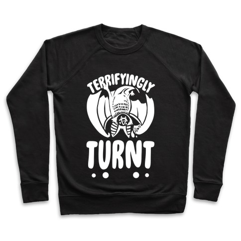 Terrifyingly Turnt Pullover