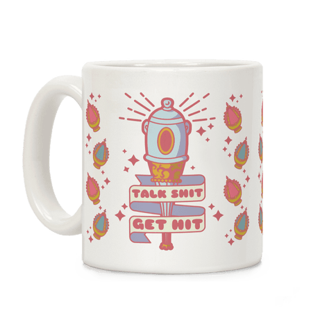 Talk Shit Get Hit Sayaka Bat Coffee Mug