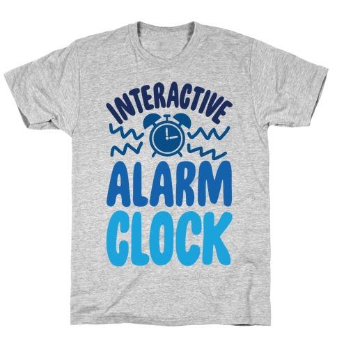 Interactive Alarm Clock T-Shirt