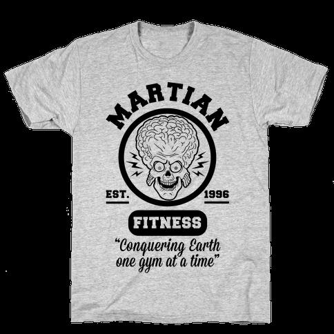 Martian Fitness Mens T-Shirt