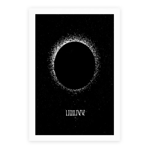 Total Eclipse Countdown Poster