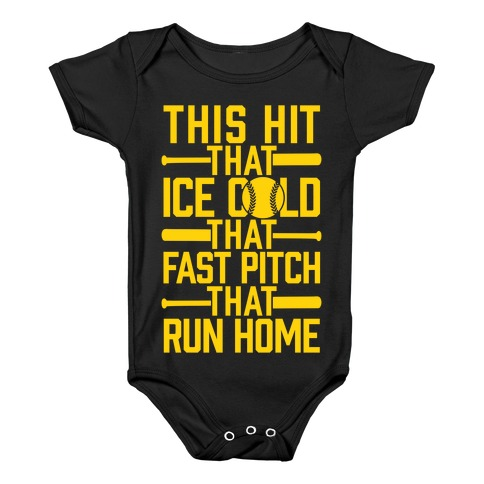 8d793bcc9 Uptown Softball Baby One-Piece | LookHUMAN