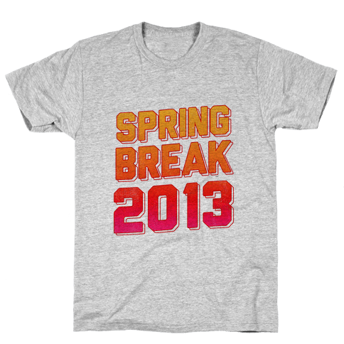 Spring Break 2013 Mens T-Shirt