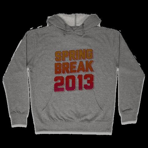 Spring Break 2013 Hooded Sweatshirt