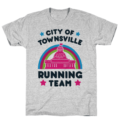 City Of Townsville Running Team Mens T-Shirt