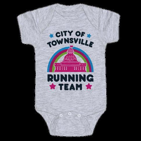 City Of Townsville Running Team Baby Onesy