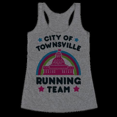 City Of Townsville Running Team Racerback Tank Top