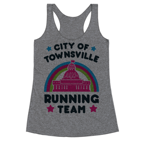 City Of Townsville Running Team Racerback Tank Top