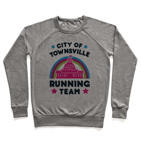 City Of Townsville Running Team Pullover