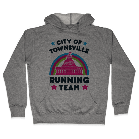 City Of Townsville Running Team Hooded Sweatshirt