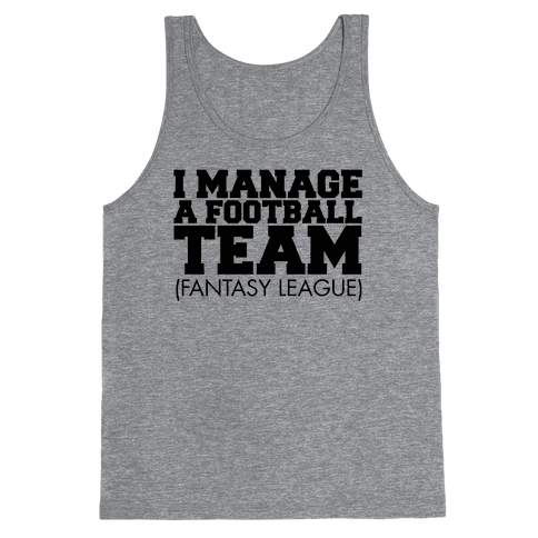 Football Manager Tank Top