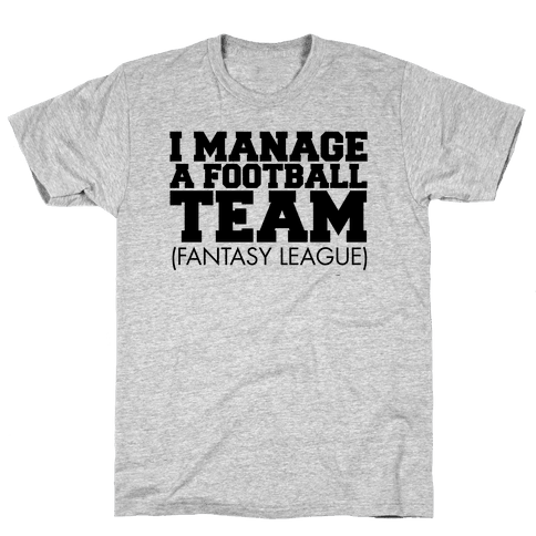 Football Manager Mens T-Shirt