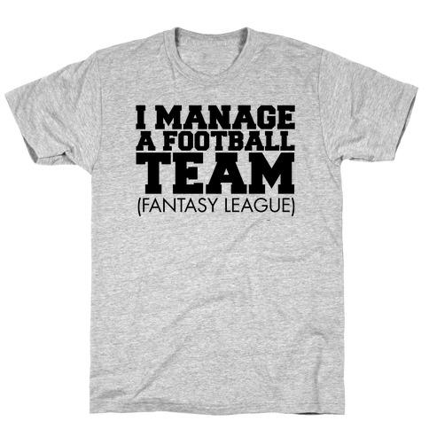 Football Manager Mens T-Shirt