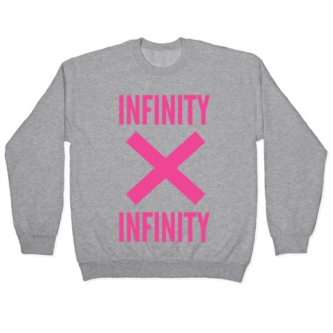 Infinity Times Infinity Pullover