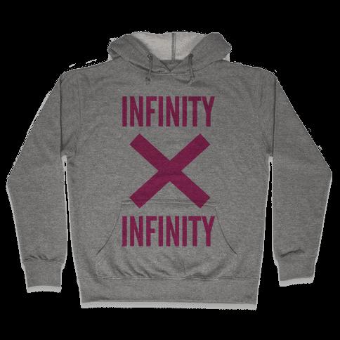 Infinity Times Infinity Hooded Sweatshirt
