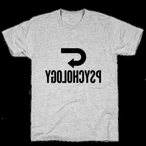 Reverse Psychology Mens T-Shirt