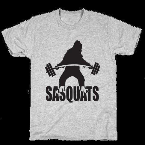 Sasquats Mens T-Shirt
