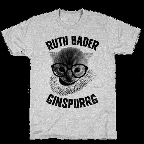 Ruth Bader Ginspurrg (Vintage) Mens T-Shirt