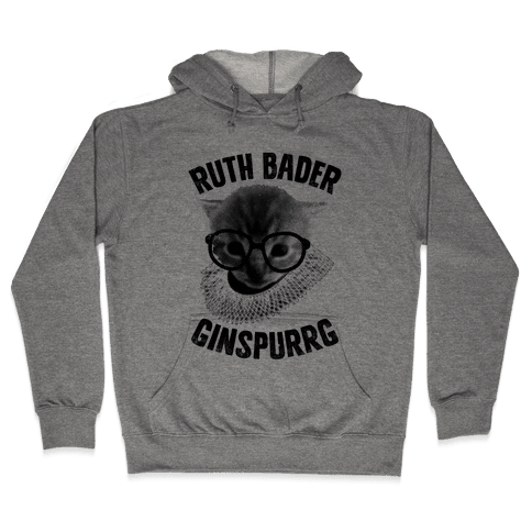 Ruth Bader Ginspurrg (Vintage) Hooded Sweatshirt