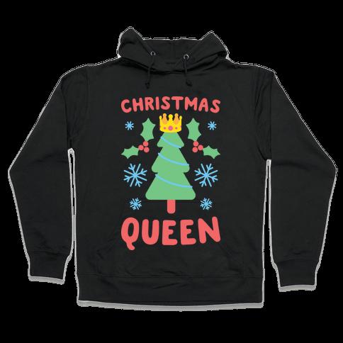 Christmas Queen (White) Hooded Sweatshirt