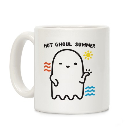 Hot Ghoul Summer Coffee Mug