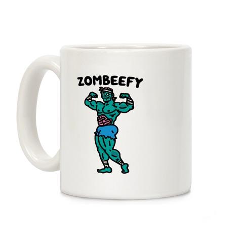 Zombeefy Parody Coffee Mug