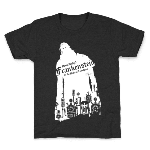 Mary Shelley's Frankenstein Kids T-Shirt