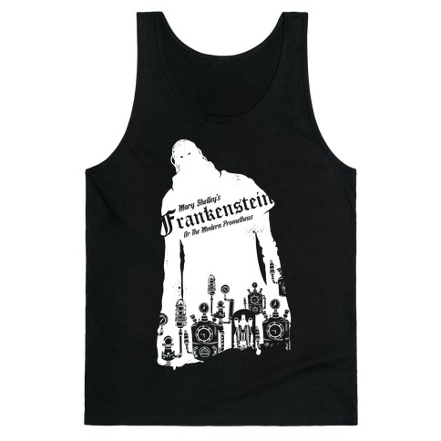 Mary Shelley's Frankenstein Tank Top
