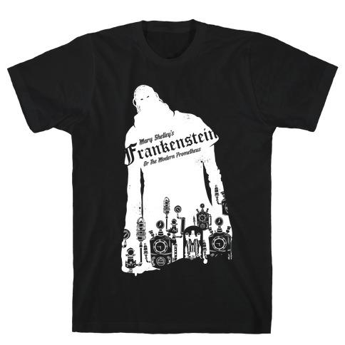 Mary Shelley's Frankenstein Mens T-Shirt