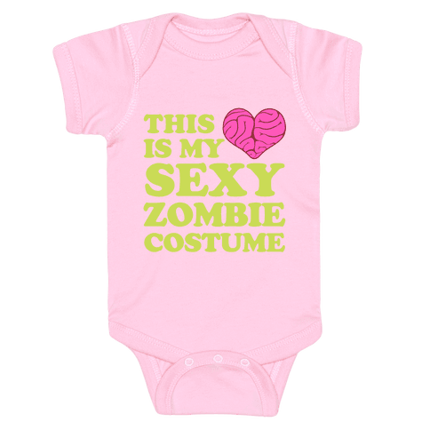 This Is My Sexy Zombie Costume Baby Onesy