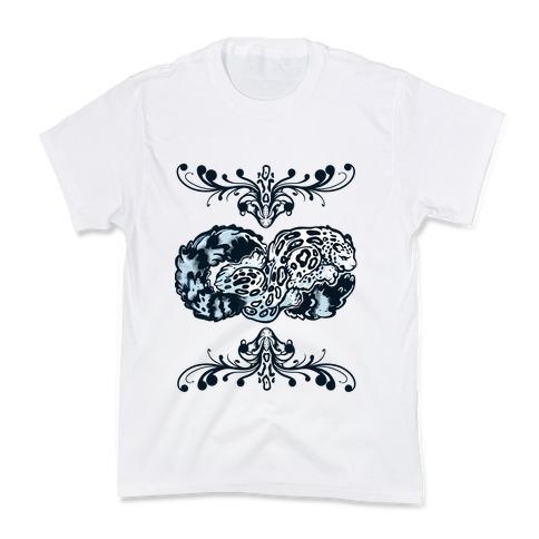 Infinity Snow Leopard Kids T-Shirt
