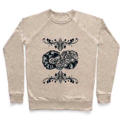 Infinity Snow Leopard Pullover