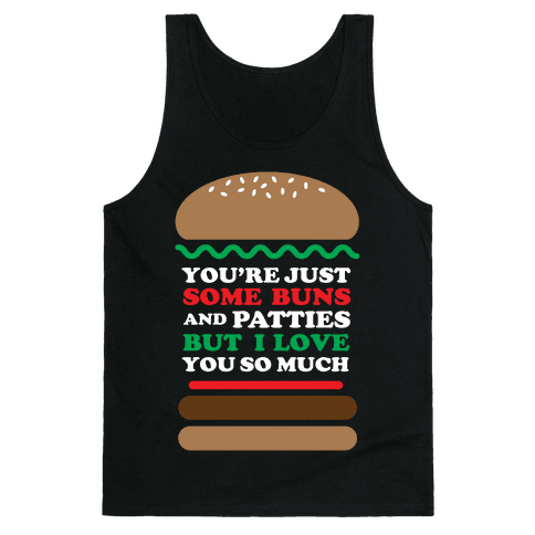 Burger Love Tank Top