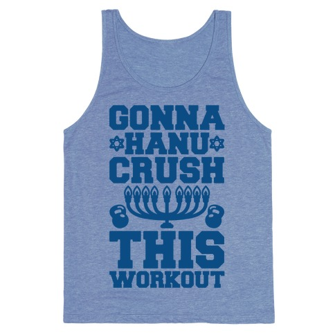 Gonna Hanu-Crush This Workout Tank Top
