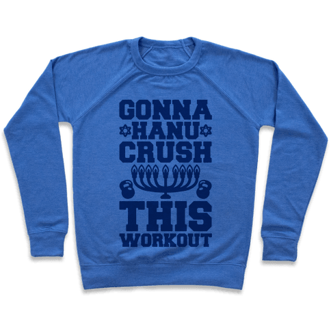 Gonna Hanu-Crush This Workout Pullover