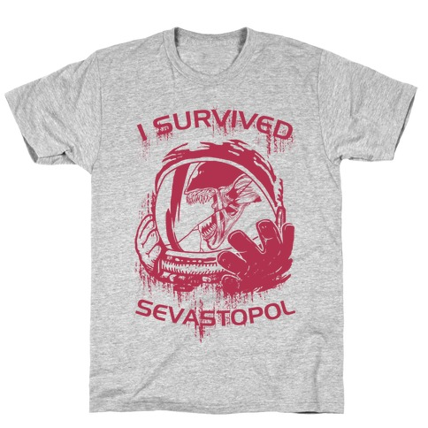35356ae5c I Survived Sevastopol T-Shirt | LookHUMAN