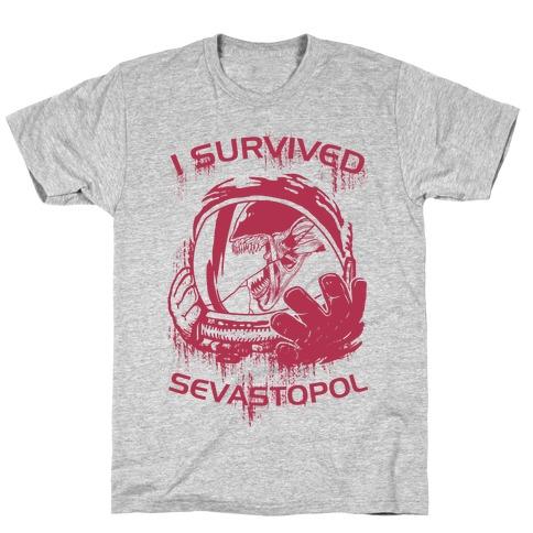 I Survived Sevastopol Mens T-Shirt