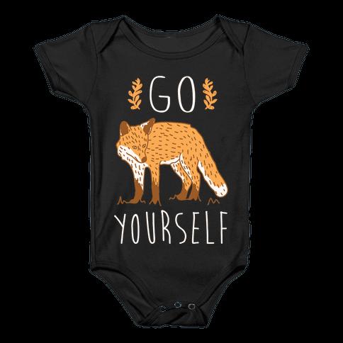 Go Fox Yourself Baby Onesy