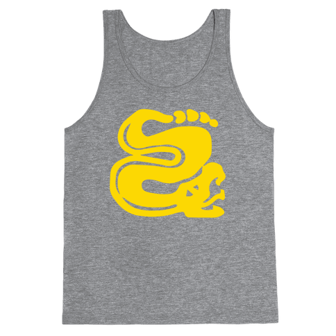 Silver Snakes Tank Top