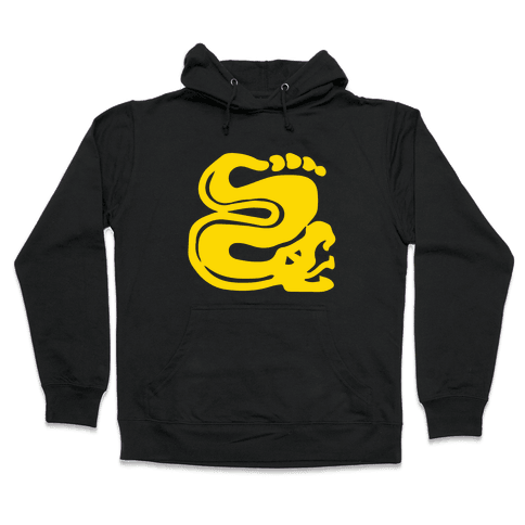 Silver Snakes Hooded Sweatshirt