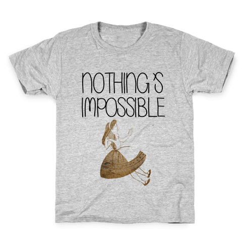 Wonderland: Nothing's Impossible Kids T-Shirt