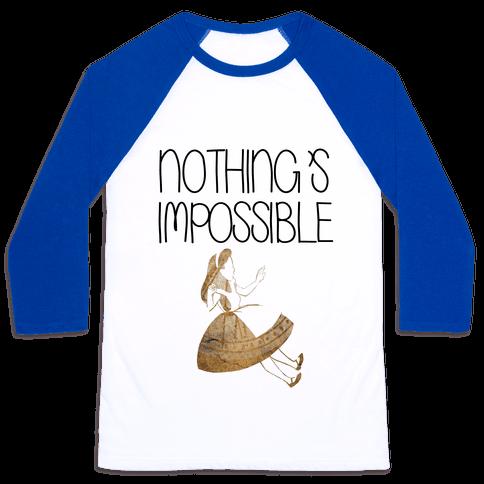 Wonderland: Nothing's Impossible Baseball Tee