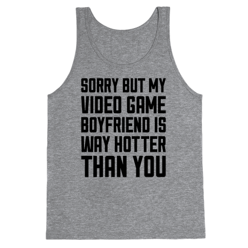 My Video Game Boyfriend Tank Top