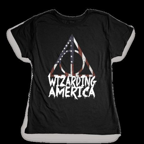 Wizarding America Womens T-Shirt