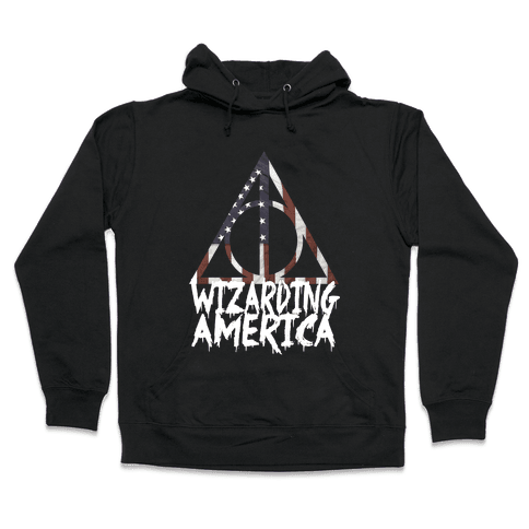 Wizarding America Hooded Sweatshirt