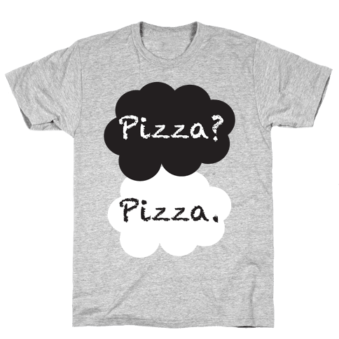 The Fault In Our Pizza Mens T-Shirt
