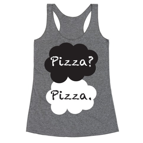 The Fault In Our Pizza Racerback Tank Top