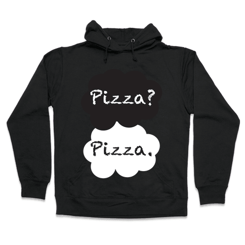 The Fault In Our Pizza Hooded Sweatshirt